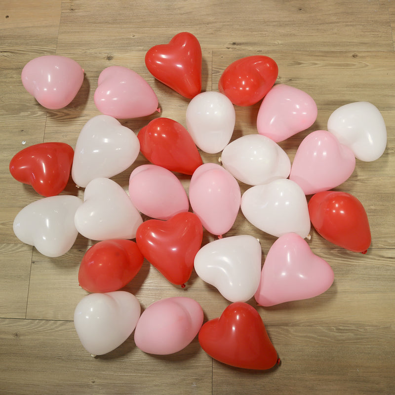 Pack of 25 Mini Balloons - Valentines