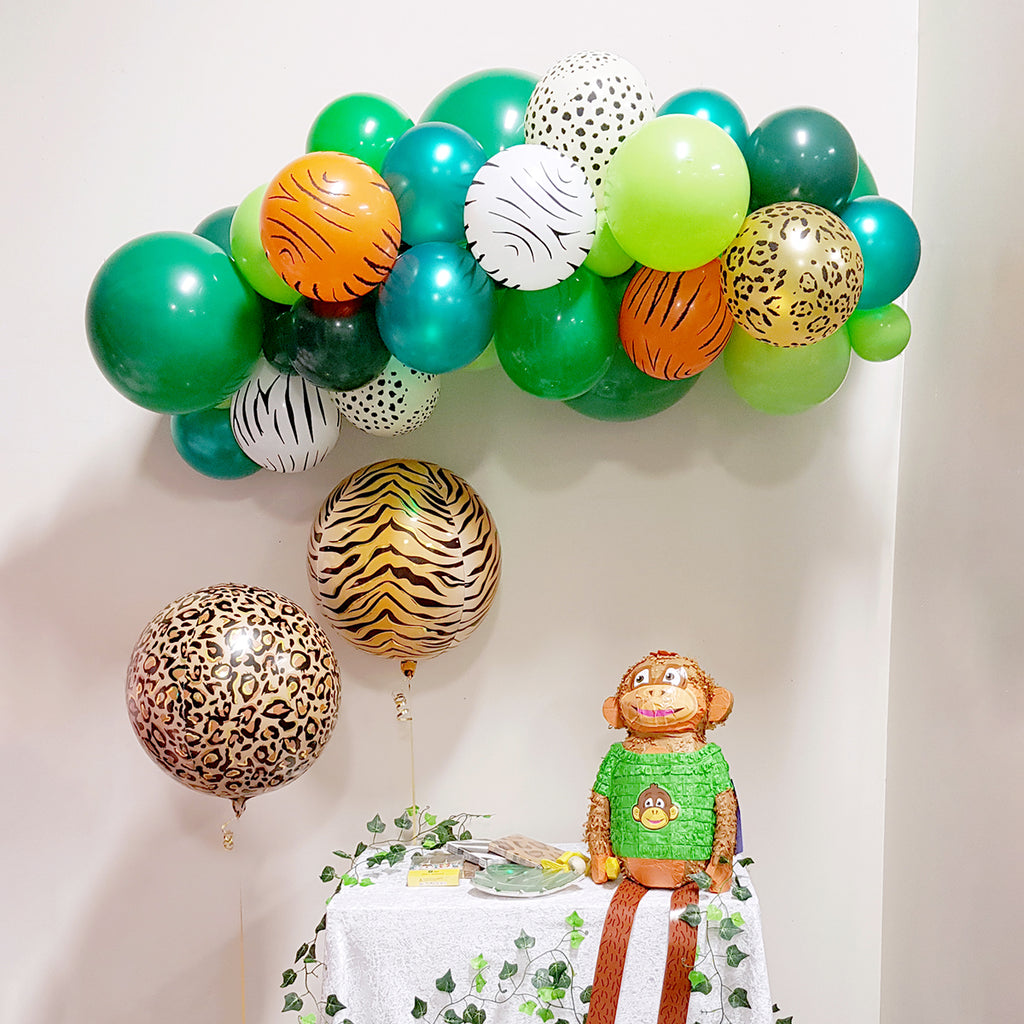Jungle Safari Balloon Garland | Jungle Safari Party Supplies