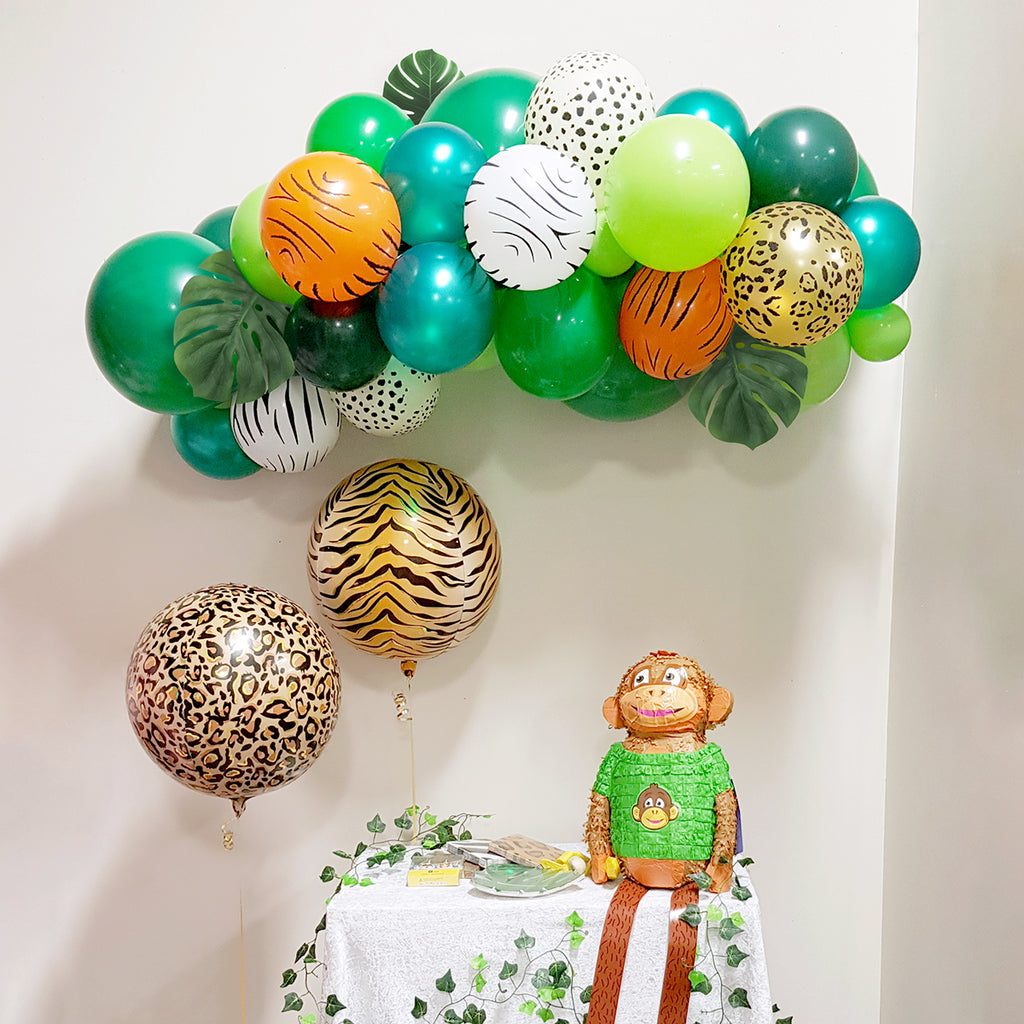 Jungle Safari Balloon Garland