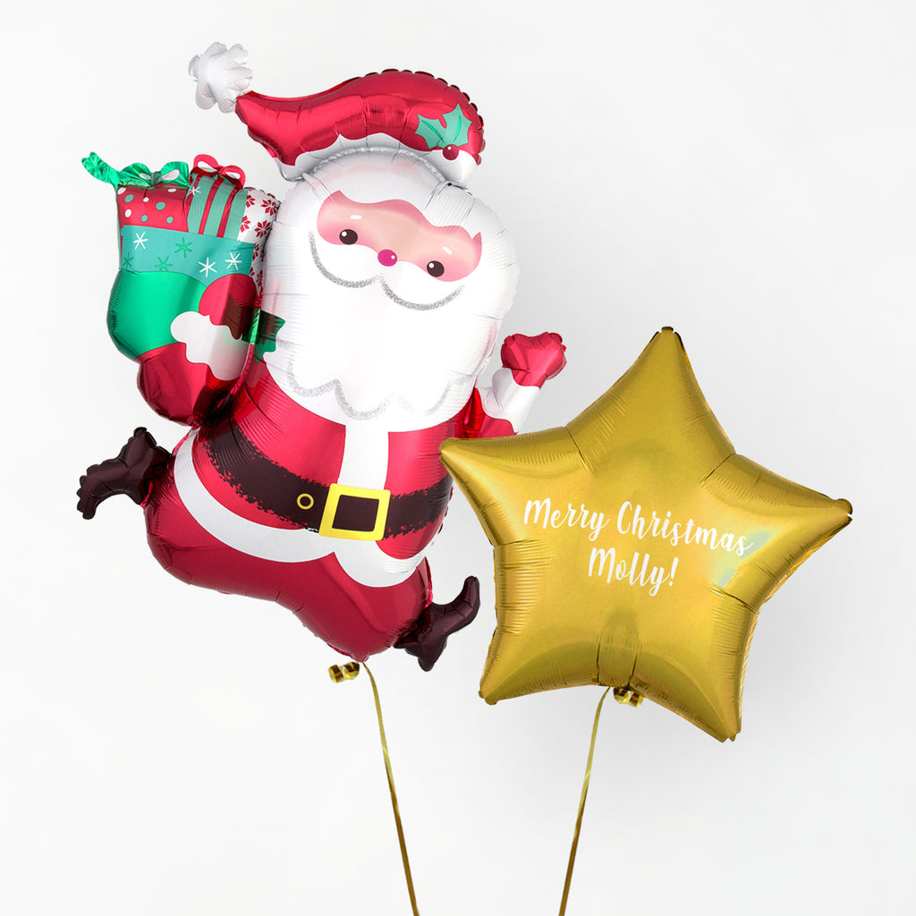 Personalised Christmas Balloon | Christmas Balloons NZ