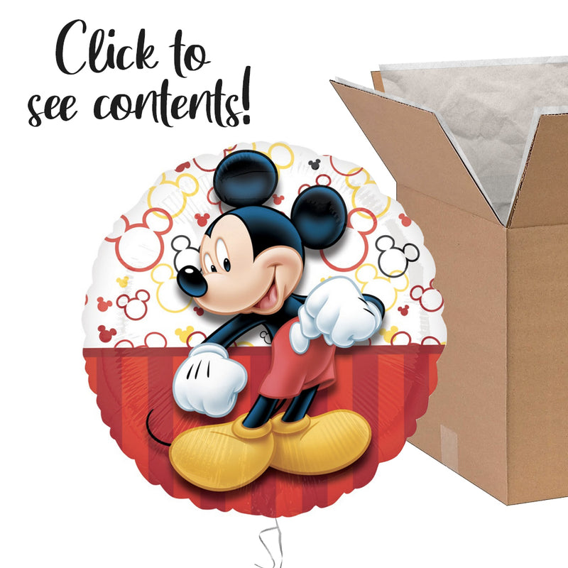 Mickey Mouse Care Package | Mickey Mouse Party Theme & Supplies | POP Balloons