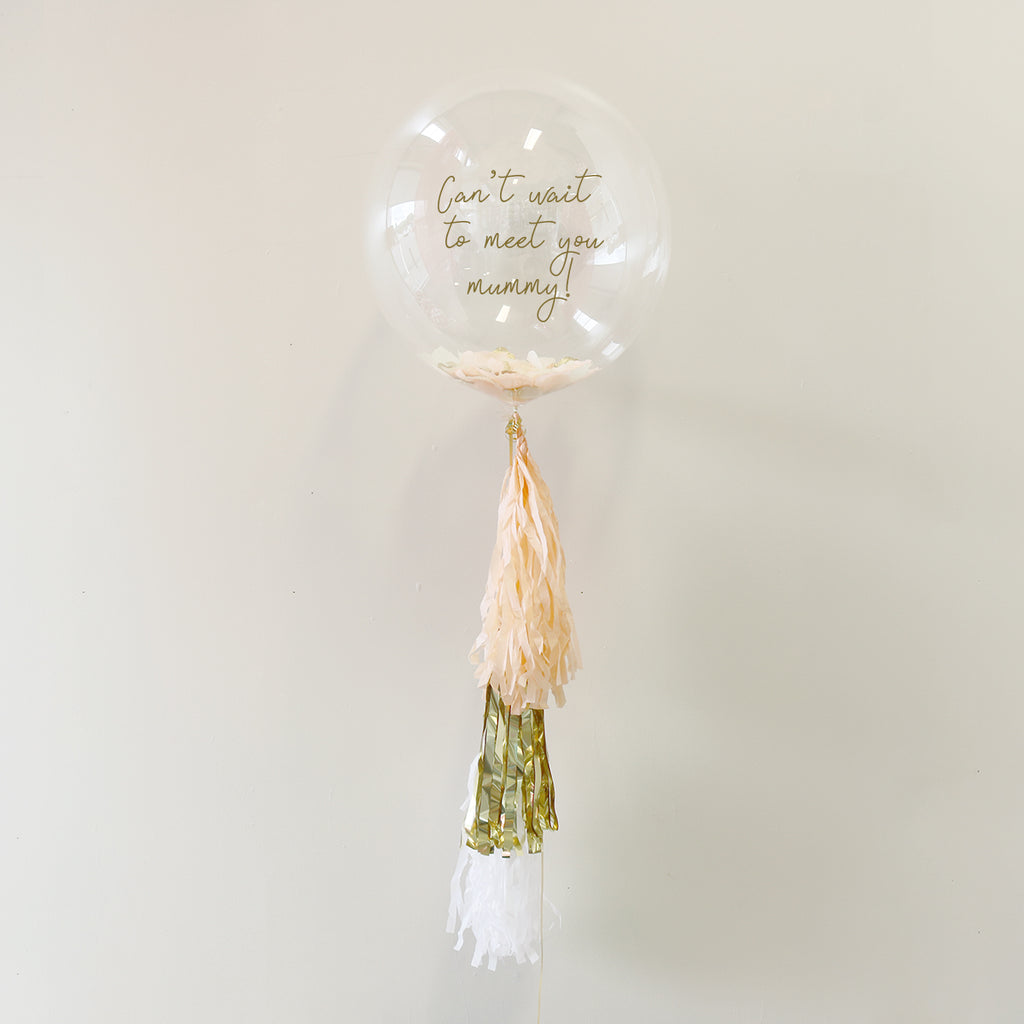 Mum To Be Personalised Bubble Balloon