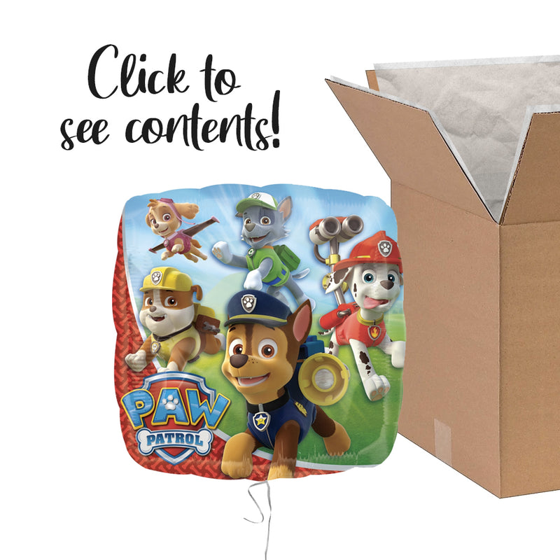 Paw Patrol Care Package | Paw Patrol Party Theme & Supplies | POP Balloons