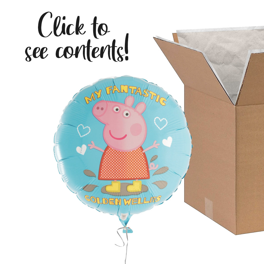 Peppa Pig Care Package | Peppa Pig Party Theme & Supplies | POP Balloons