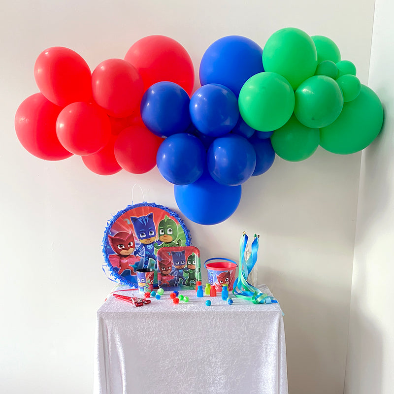 PJ Masks Balloon Garland | PJ Masks Party Decorations