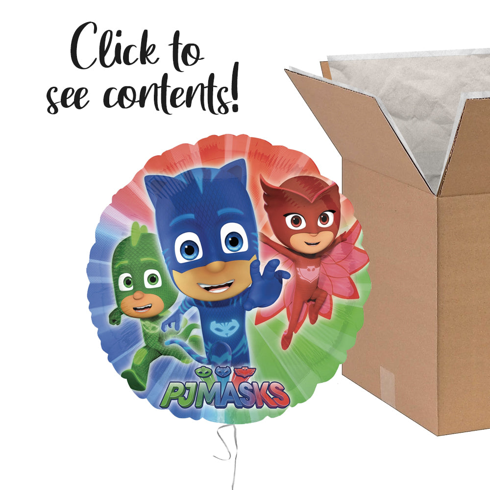 PJ Masks Care Package | PJ Masks Party Theme & Supplies | POP Balloons