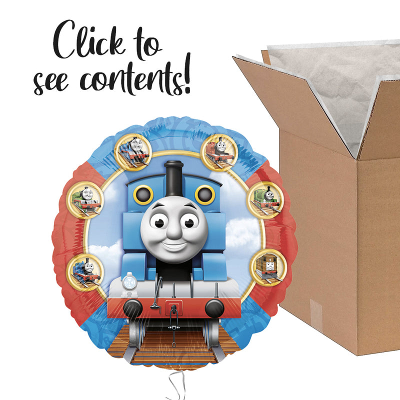 Thomas The Tank Engine Care Package | Thomas The Tank Engine Party Theme & Supplies | POP Balloons