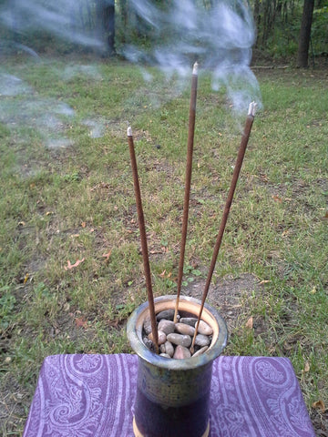 citronella incense burner - mosquito repellent - meskito