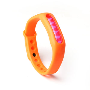 Orange Mosquito Repellent Wristband - Meskito