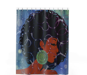 Effervescent Shower Curtain - Unapologetic Decor