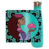 Lovely Lotus Peristyle Water Bottles - Unapologetic Decor