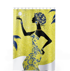 Sun Kissed Shower Curtain - Unapologetic Decor