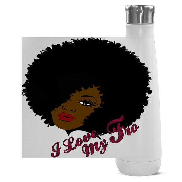 Love My 'Fro Peristyle Water Bottles - Unapologetic Decor