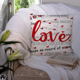Love Is Throw Pillows - Unapologetic Decor