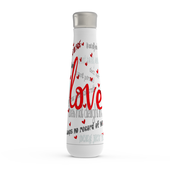 Love Is Peristyle Water Bottles - Unapologetic Decor