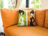 Day and Night Throw Pillows - Unapologetic Decor