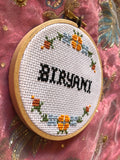 Biryani Cross Stitch