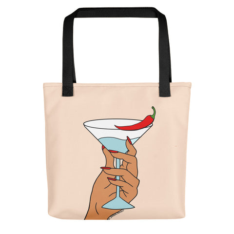 Mirchi Martini - Tote bag