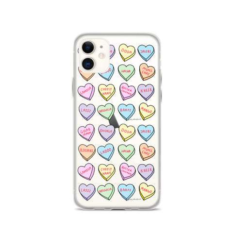 A Foodies Valentine - iPhone Case