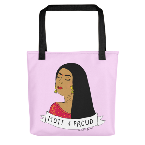 Moti and Proud - Tote bag