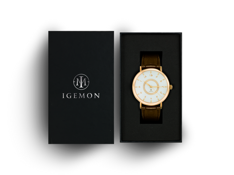 Ionic Gold Leather