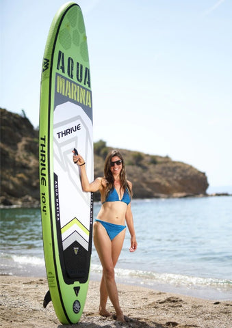 AQUA MARINA-THRIVE 10'4'' Inflatable Stand Up Paddle Board with Accessories