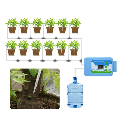 Automatic Drip Irrigation LED Pump - GoGetThings