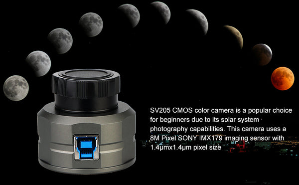 SVBONY SV205 1.25'' 8MP USB3.0 ELECTRONIC EYEPIECE ASTRONOMY CAMERA