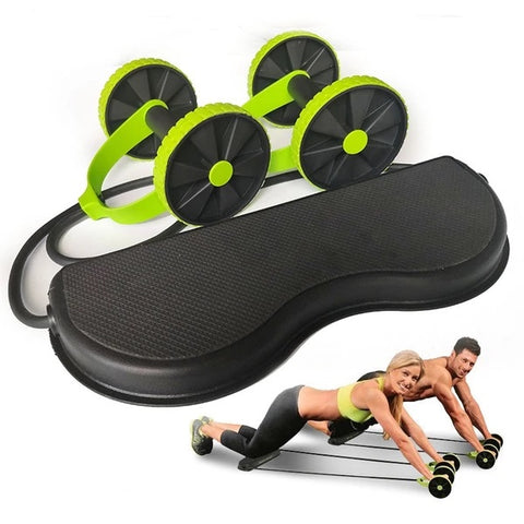 Multi-function Fitness Abs Trainer Abdominal Muscle Abs Roller