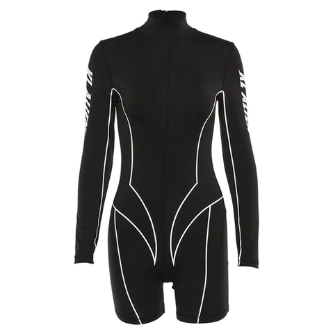 Women Full Sleeve Sporting Bodysuit - GoGetThings