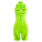 Women Sleeveless Sporting Bodysuit - GoGetThings
