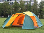 WINGACE 3-4 Person Bedroom & Living Room Camping Family Tent