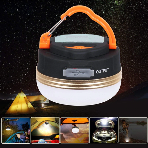 Mini Portable LED Camping Tent Light