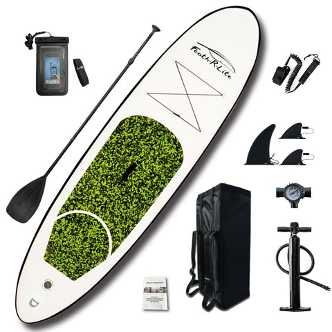 10'x30''x4'' Inflatable Stand Up Paddle Board with Backpack and Tools