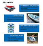 "FunWater 10'6"" Inflatable Stand Up Paddle Board Set"