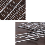 Portable Stainless Steel BBQ Grilling Basket