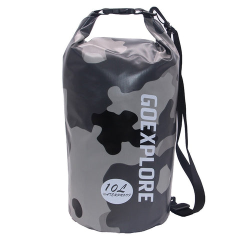 GOEXPLORE 10L/20L Camouflage Waterproof Dry Bag