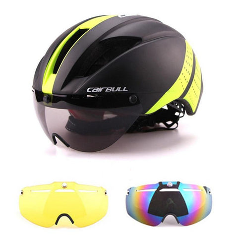 Cairbull Aero Goggles Bicycle Helmet