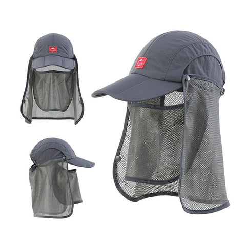 Naturehike Folding Quick-Dry Cap with Protective Breathable Mesh - GoGetThings