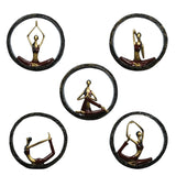 Modern Yoga Pose Resin Statue - GoGetThings