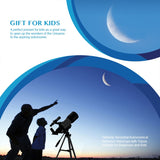 AOMEKIE F30070M Astronomical Telescope with Tripod - GoGetThings