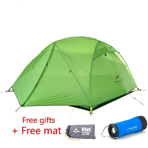Naturehike Star River Upgraded 4 Season 2-Person Ultralight Camping Tent