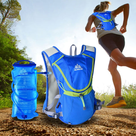 AONIJIE Hydration Backpack with 2L Water Bag - GoGetThings