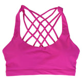 Cross Back Training Sports Bra