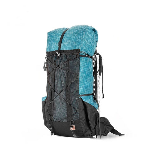 40+16L Lightweight Water-resistant Hiking Backpack