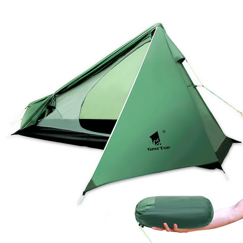 GeerTop 1-Person Ultralight Camping Tent