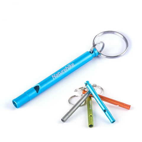 Aluminum Alloy Whistle Keychain