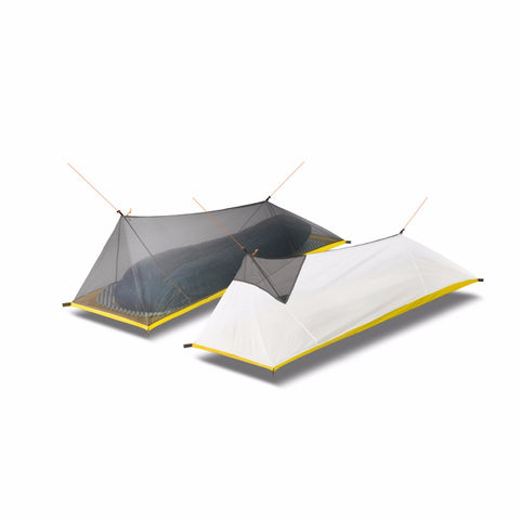 Ultralight 1-Person Outdoor Camping Tent with Mosquito Net
