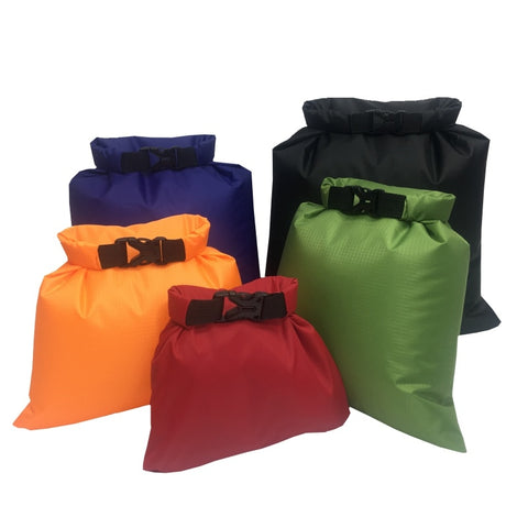 5 Pcs Outdoor Waterproof Dry Pouch Bag