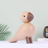 Happy Wooden Bird Miniature - GoGetThings